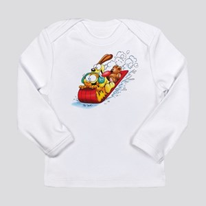 Sledding Fun! Long Sleeve Infant T-Shirt