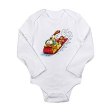 Sledding Fun! Long Sleeve Infant Bodysuit