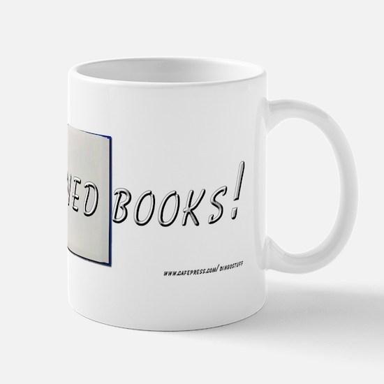 """I Read Banned books"" Mug"
