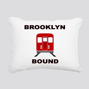 Brooklyn Bound Rectangular Canvas Pillow