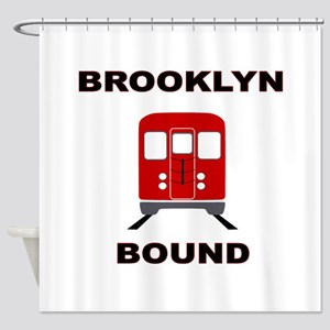 Brooklyn Bound Shower Curtain