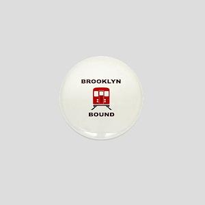 Brooklyn Bound Mini Button