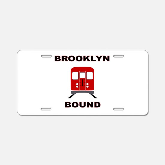 Brooklyn Bound Aluminum License Plate