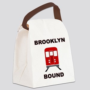 Brooklyn Bound Canvas Lunch Bag