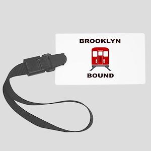 Brooklyn Bound Large Luggage Tag