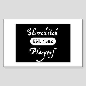 Shoreditch Players Sticker (Rectangle)