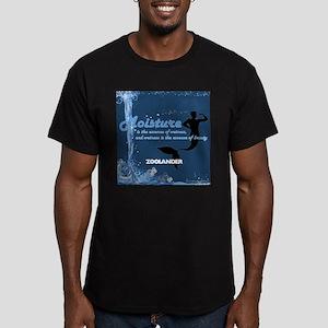 Moisture Men's Fitted T-Shirt (dark)