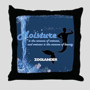 Moisture Throw Pillow