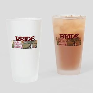 BRIDE.jpg Drinking Glass