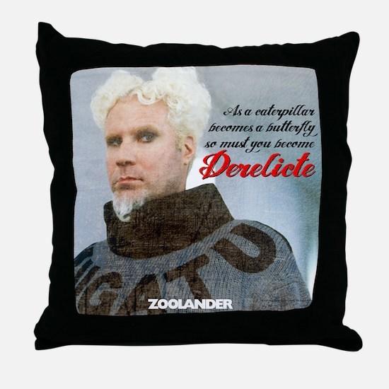 Derelicte Throw Pillow