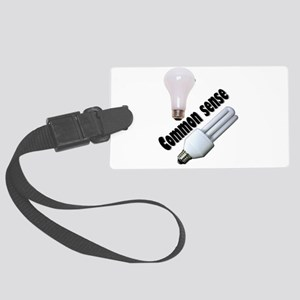bulb4 Large Luggage Tag