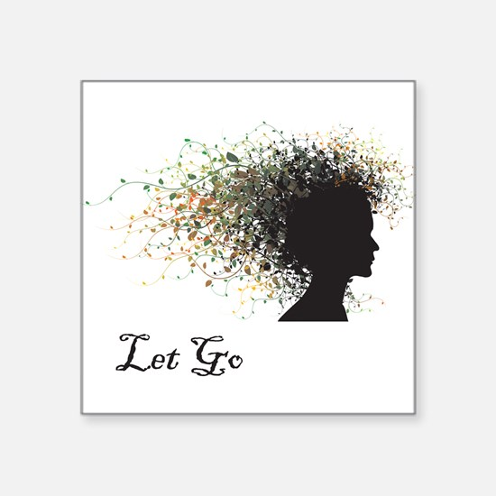 Let Go Rectangle Sticker