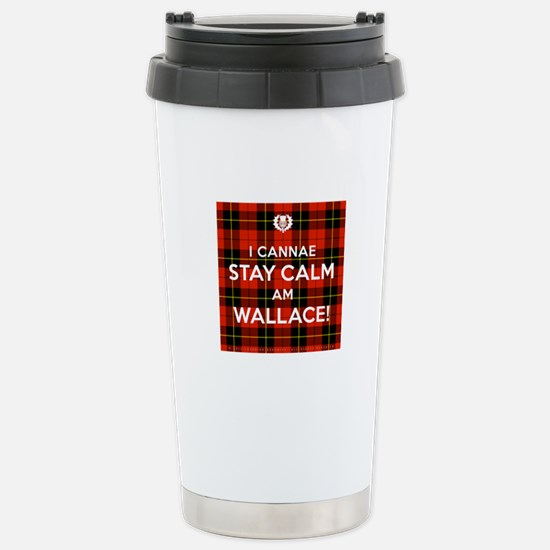 Wallace Stainless Steel Travel Mug