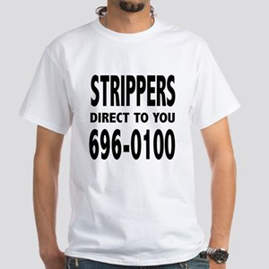 """Vegas """"Strippers Direct To You"""" - T-Shirt"""