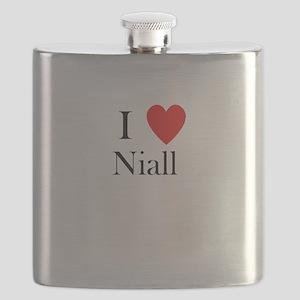 I Love Niall Flask