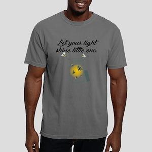Light Shine Black Mens Comfort Colors Shirt