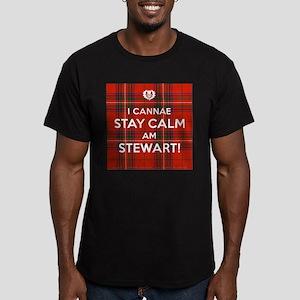 Stewart Men's Fitted T-Shirt (dark)