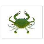 Blue Crab Small Poster