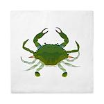 Blue Crab Queen Duvet