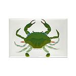 Blue Crab Rectangle Magnet (10 pack)