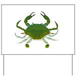 Blue Crab Yard Sign