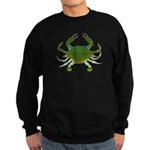 Blue Crab Sweatshirt (dark)