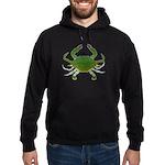 Blue Crab Hoodie (dark)