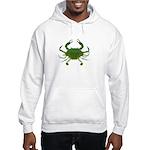 Blue Crab Hooded Sweatshirt