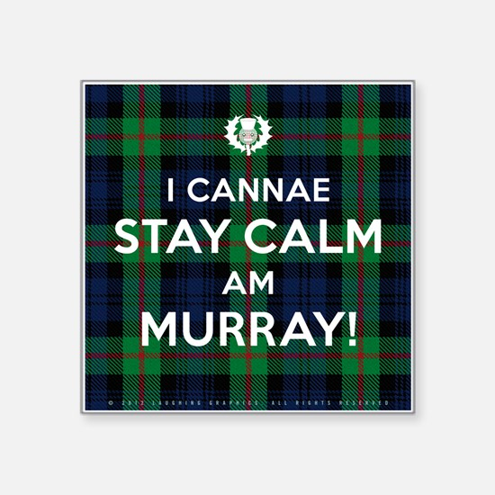 "Murray Square Sticker 3"" x 3"""
