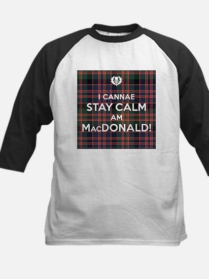 MacDonald Kids Baseball Jersey