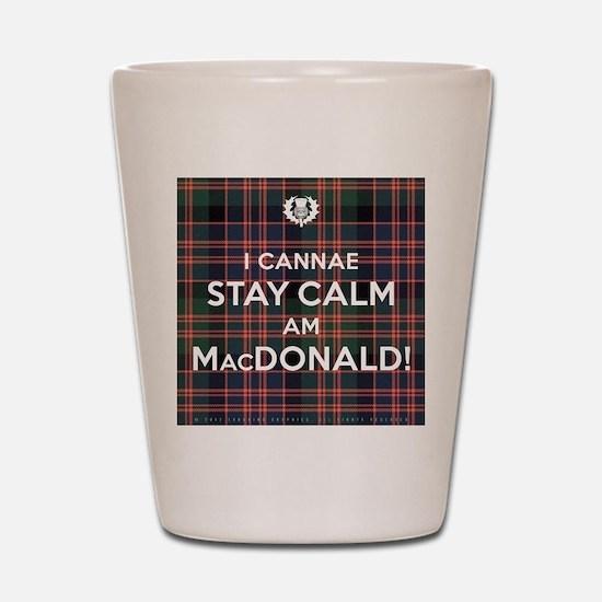 MacDonald Shot Glass