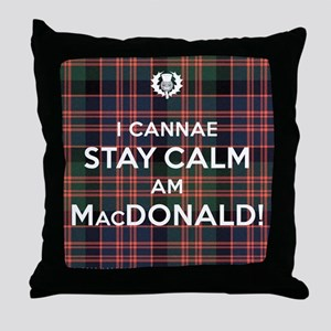 MacDonald Throw Pillow