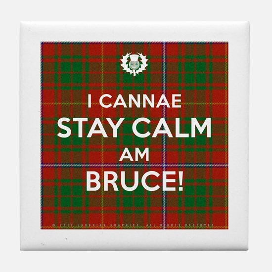 Bruce Tile Coaster