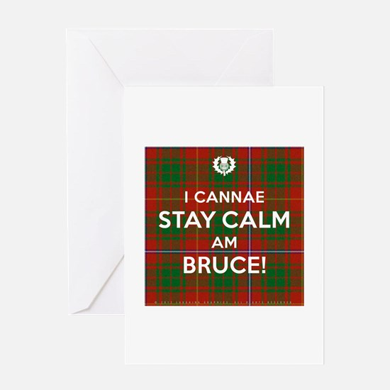 Bruce Greeting Card