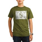The Indian Head Test Pattern Organic Men's T-Shirt