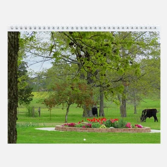 Country Gardens - Wall Calendar - 2014