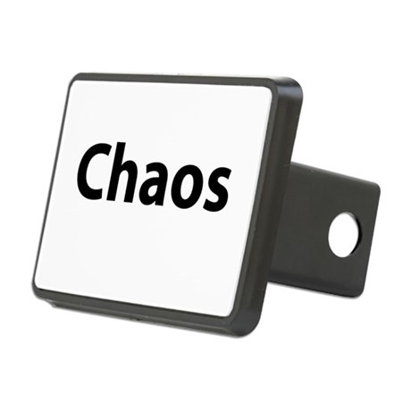 Chaos Rectangular Hitch Cover