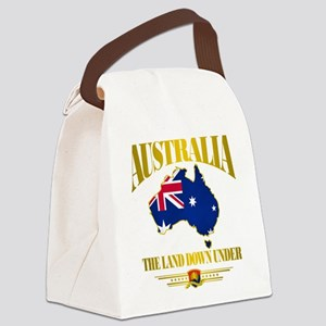 Land Down Under Canvas Lunch Bag