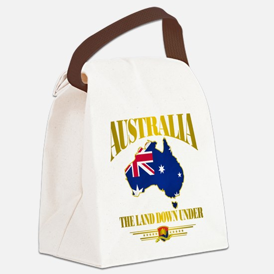 Land Down Under.png Canvas Lunch Bag