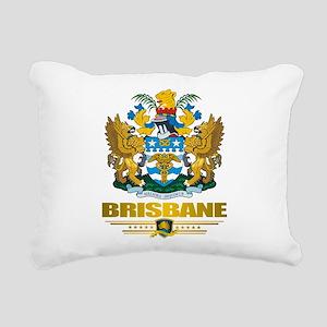 Brisbane (Flag 10)2 Rectangular Canvas Pillow