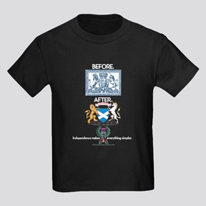 Crests Kids Dark T-Shirt