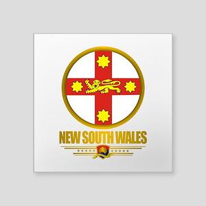 "New South Wales Emblem Square Sticker 3"" x 3"""