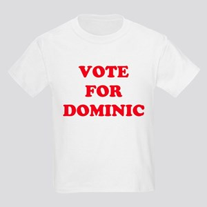 VOTE FOR DOMINIC  Kids T-Shirt