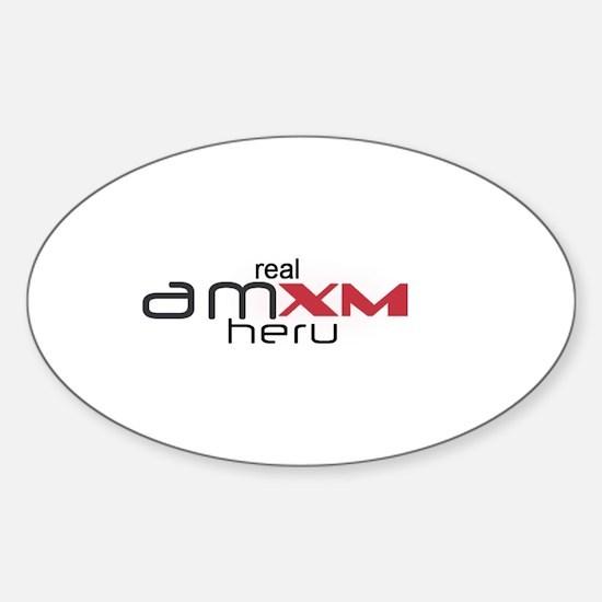 amxm_heru Sticker (Oval)