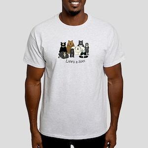 8 Bear Species Light T-Shirt
