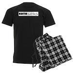 Same_seks Men's Dark Pajamas
