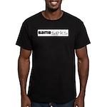 Same_seks Men's Fitted T-Shirt (dark)