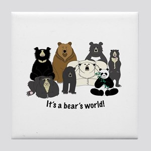 Bear's World Tile Coaster