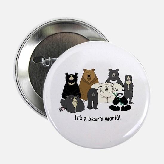 """Bear's World 2.25"""" Button"""