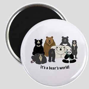 Bear's World Magnet